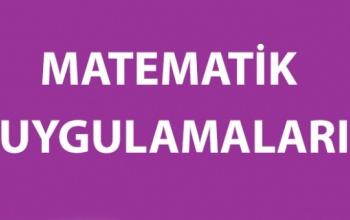 Matematik Uygulamaları 2017-2018 Yıllık Planları (5, 6, 7 ve 8)