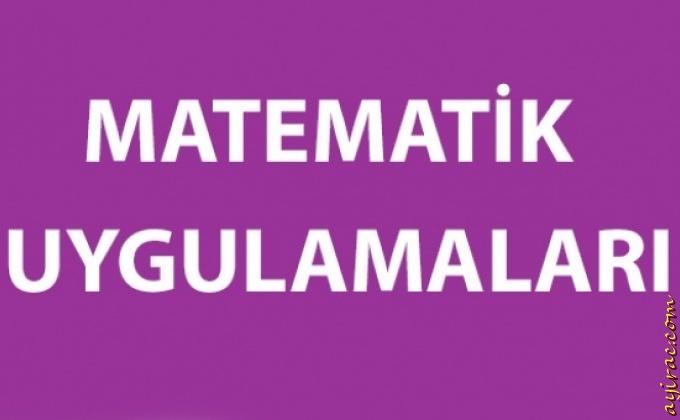 Matematik Uygulamaları 2016-2017 Yıllık Planları (5, 6, 7 ve 8)
